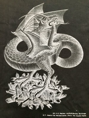M.C Escher エッシャー Tシャツ だまし絵 アート