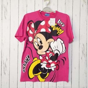 新品未使用 東京ディズニーリゾート限定 LET'S JUMP Tシャツ(ミニー柄)|サイズ:S(肩幅:41cm)ユニセックス|682222775850