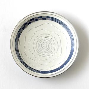 小石原焼  丸皿