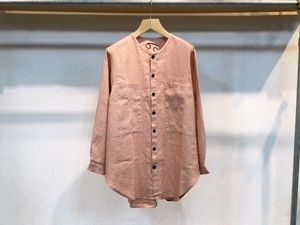 "69(sixty nine)""CHILL DUDE SHIRT DUSTY ROSE LINEN"""