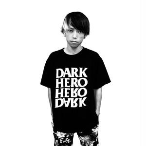 DARKHERO T-shirt 【BLACK】