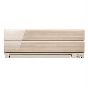 三菱 【エアコン】おもに8畳用 Sシリーズ (シャンパンゴールド) MSZ-S2518-N