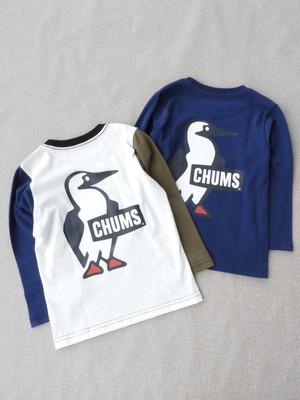 CHUMS【Booby Logo L/S Tee】Kids KN