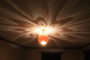 天井取付型ひょうたんランプ #2
