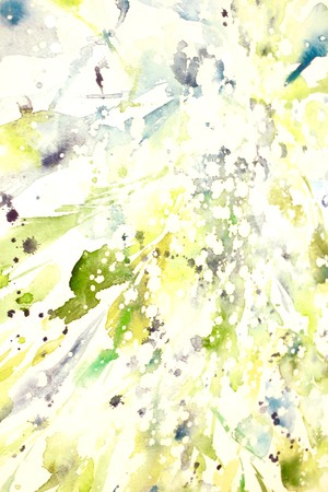 ◯ Dance of the Light ~ The Master Djwal Khul { 水彩画 ART }