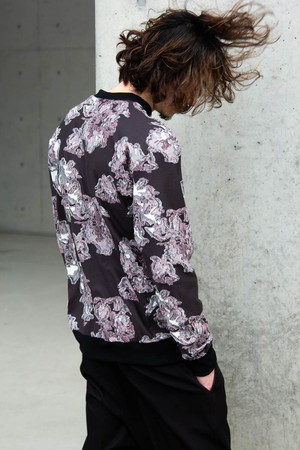 20SS2M Mosaic Flower Pullover