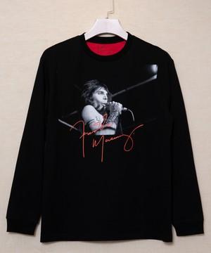 FREDDIE MERCURY(フレディー・マーキュリー)ロングスリーブTシャツ
