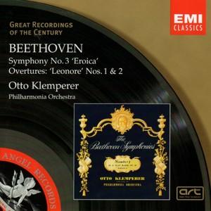 [中古CD] ベートーヴェン:交響曲第3番「英雄」/レオノーレ第1/2番 クレンペラー/フィルハーモニア管弦楽団