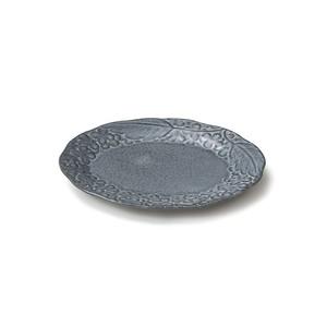 「リアン Lien」プレート 皿 長幅18cm S グレー 美濃焼 267837