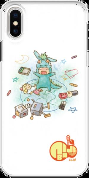 iPhoneX用スマホケース にじば 人間って素晴らしくてさ~full album~ドラゴンの愛02var.