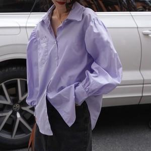 フレンチスリーブルーズシャツ ・2096