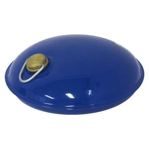 トタン製湯たんぽ Miniまる 袋付き(ブルー)