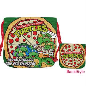 【即納】巾着袋 タートルズ Turtles アメコミ 14-0-419