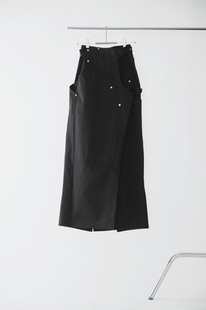 【FW20先行受注】double knee skirt