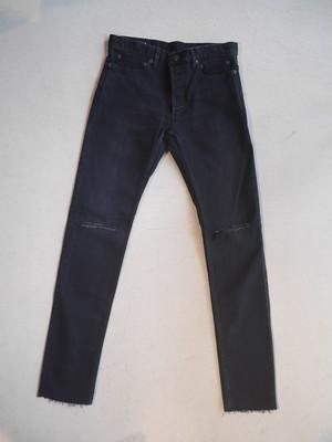 TAKAHIROMIYASHITATheSoloist. / stretch slim tapered knee slit 6pocket jean.