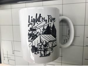 Light My Fireオリジナルマグカップ