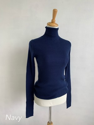 Bilitis dix-sept ans   Basic Turtle Neck 19AW