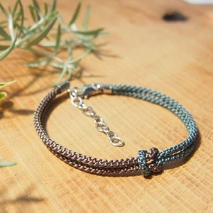 men's bracelet ■mb(brown)