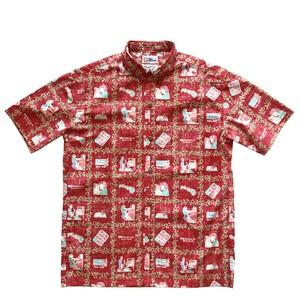 NEW アロハシャツ Remake / レインスプーナー ハワイアンテルコム 1993