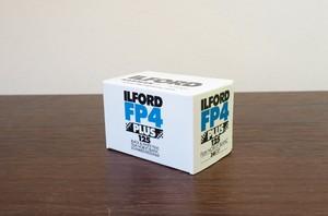 【モノクロネガフィルム 35mm】ILFORD(イルフォード) FP4 PLUS 125 36枚撮り