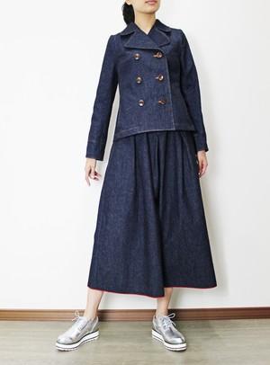 岡山デニムの Pジャケット(セルビッチデニム・インディゴ)