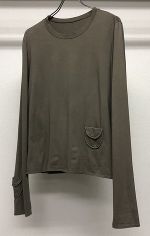 2000s MIUMIU 2 POCKET L/S T-SHIRT