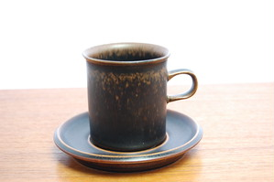 Ruska(ルスカ) コーヒーカップ&ソーサー【B】