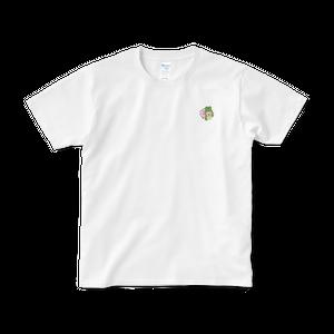 Celebration ワンポイント Tシャツ(白/黒)