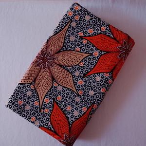 アフリカンプリント布(キテンゲ) autumn flower