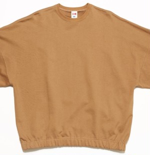 80's FAT CREW SWEAT - BEIGE