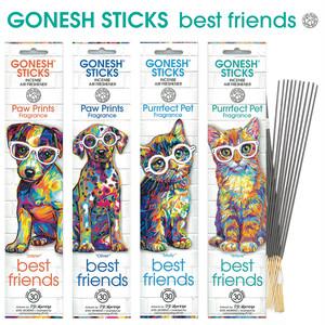 GONESH STICKS best friends お香 アロマ インセンス ペット用 消臭