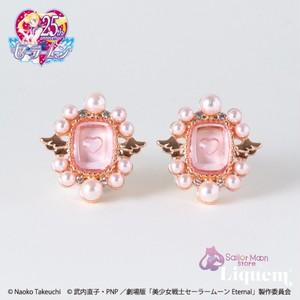 Sailor Moon store x Liquem / スーパーセーラーちびムーンインタリオ イヤリング