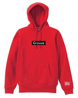 GrooveP(RED) Black Box Logo