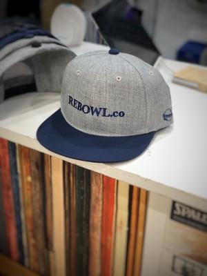REBOWL.co_フラットバイザーキャップ