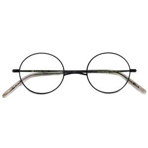 STEADY ステディ/ STD-10 / カラー:13 Black ブラック 丸メガネ ラウンド イチヤマフレーム