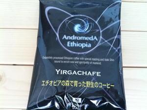 アンドロメダエチオピアコーヒー   ヤルガッチャフェ    100g粉