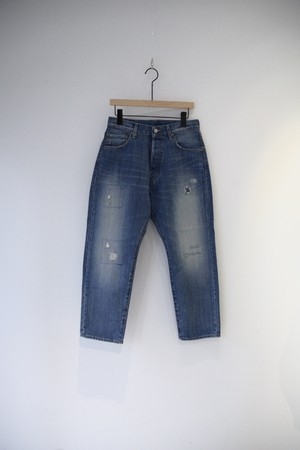 【ordinary fits】OM-P056RK 5POCKET LOOSE DENIM remake A