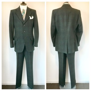 1960s-70s Vintage Dunn&Co 2 Piece Suits Made in England