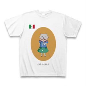 民族衣装Tシャツ メキシコxオオカミ