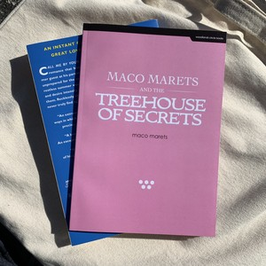 MACO MARETS AND THE TREEHOUSE OF SECRETS (notebook)