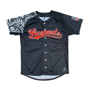 【YBC】Baseball Shirt Black × White