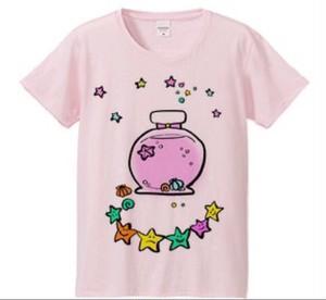 sea Tシャツピンク