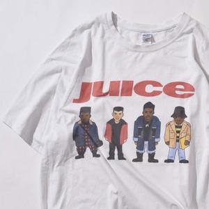 【XXLサイズ】JUICE Logo ジュース TEE 半袖Tシャツ WHT ホワイト XXL 400601191047