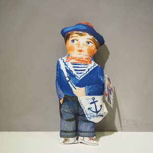 SAILOR FABRIC DOLL Nathalie Lete