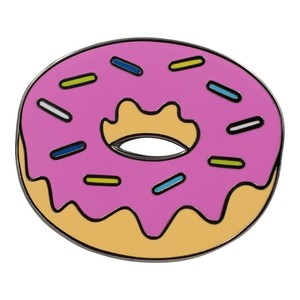 """Real Sic""""Donut Emoji – Enamel Pin for your Life"""""""