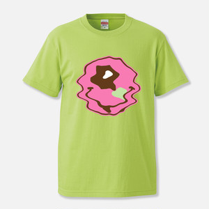 "Hexagon Eye ""ACID"" T-shirt / LIME(Limited Edition)"