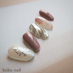 pink nuance nail
