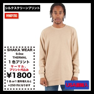 SHAKA WEAR 9.0 OZ THERMAL (品番THERMAL-LS)