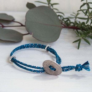 men's&ladie's bracelet ■shara (blue)
