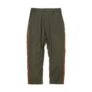 STRETCHED TAPERED PANTS -KHAKI